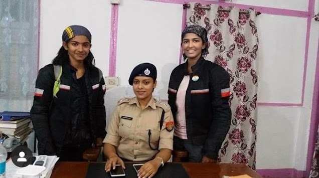FIRST FEMALE YOUNGEST DUO ON ALL INDIA EXPEDITION ON A BULLET | Elby Jolly and Harsha Kumari