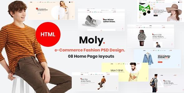 Multipurpose eCommerce HTML5 Template