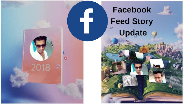 Merry Christmas and 2019 New Year Me Facebook Feed Story Update