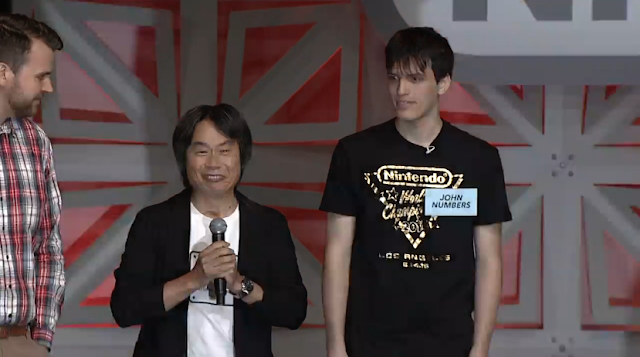 John Numbers Shigeru Miyamoto Nintendo World Championships