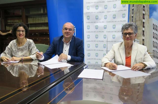 El Cabildo y Funcataes acuerdan la promoción de actividades de ocio dirigidas a personas con discapacidad intelectual