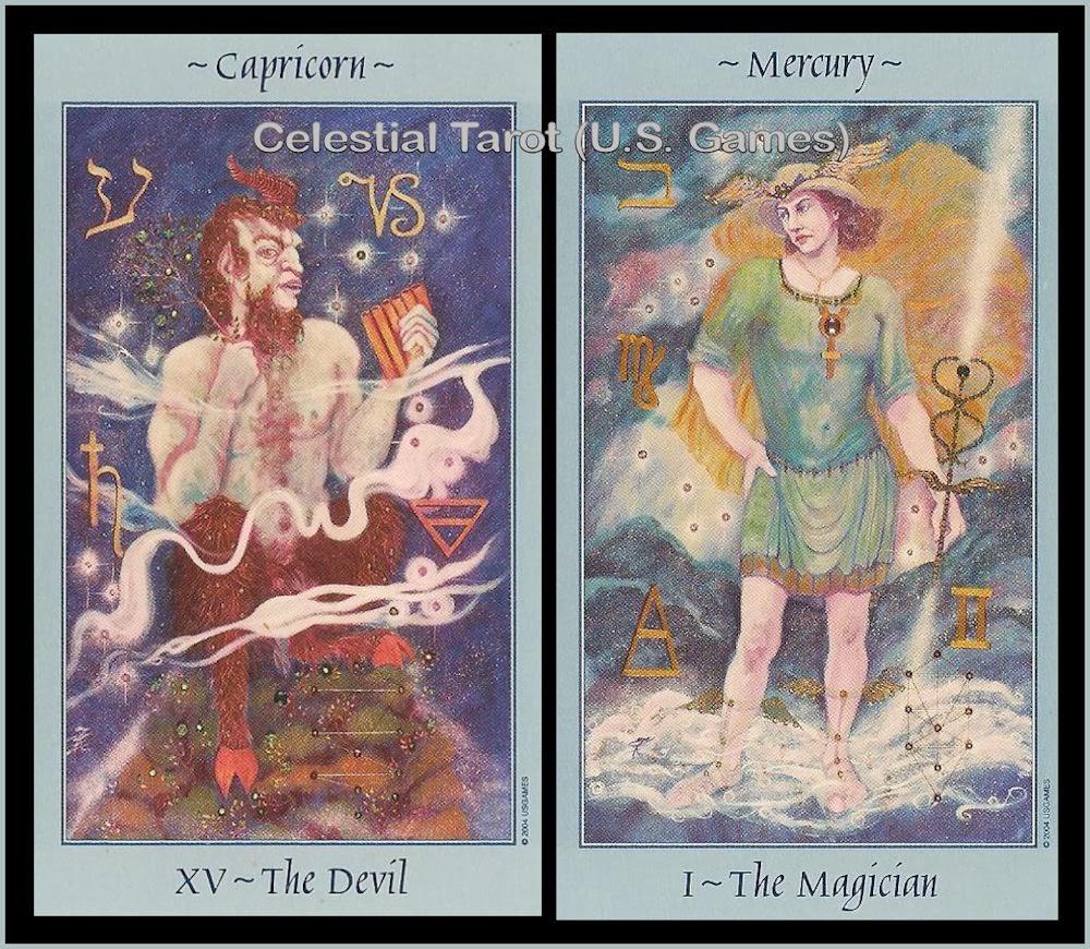 Tarot Notes: Mercury in Capricorn