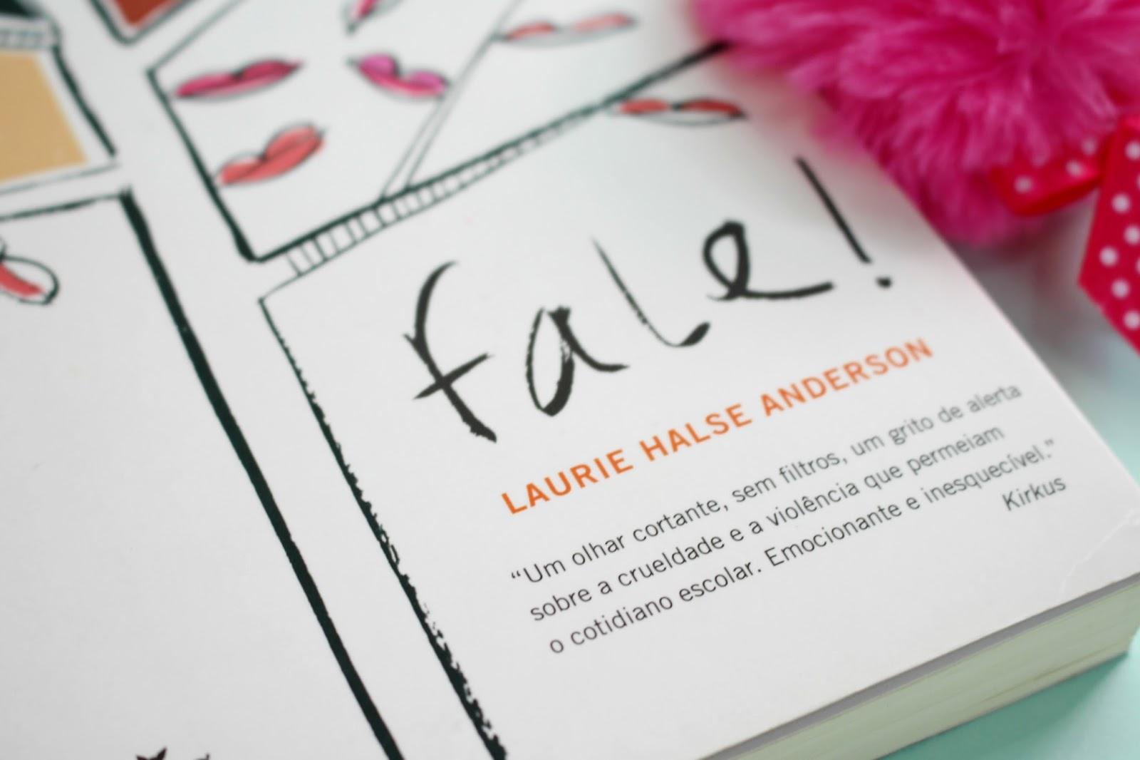 Fale! Laurie Halse Anderson