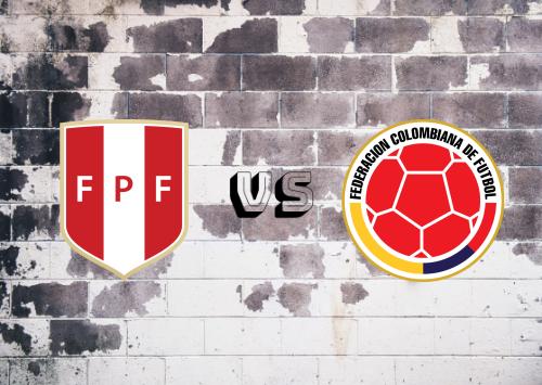 Perú vs Colombia  Resumen