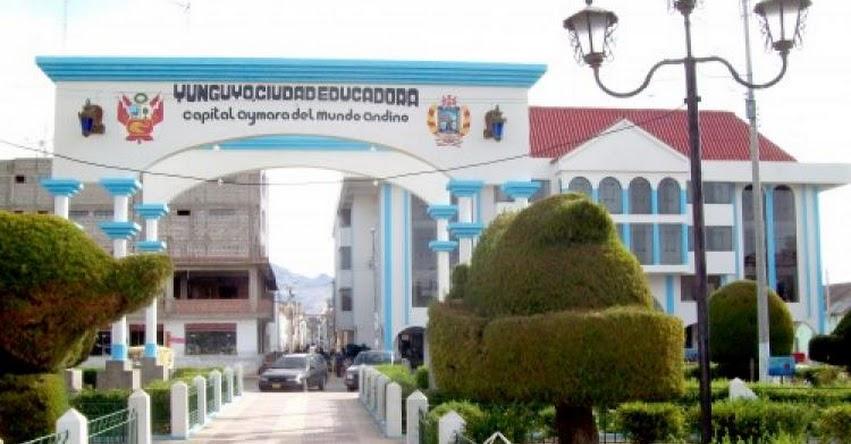 Trabajadores administrativos de la UGEL Yunguyo acatan paro de 48 horas - Puno