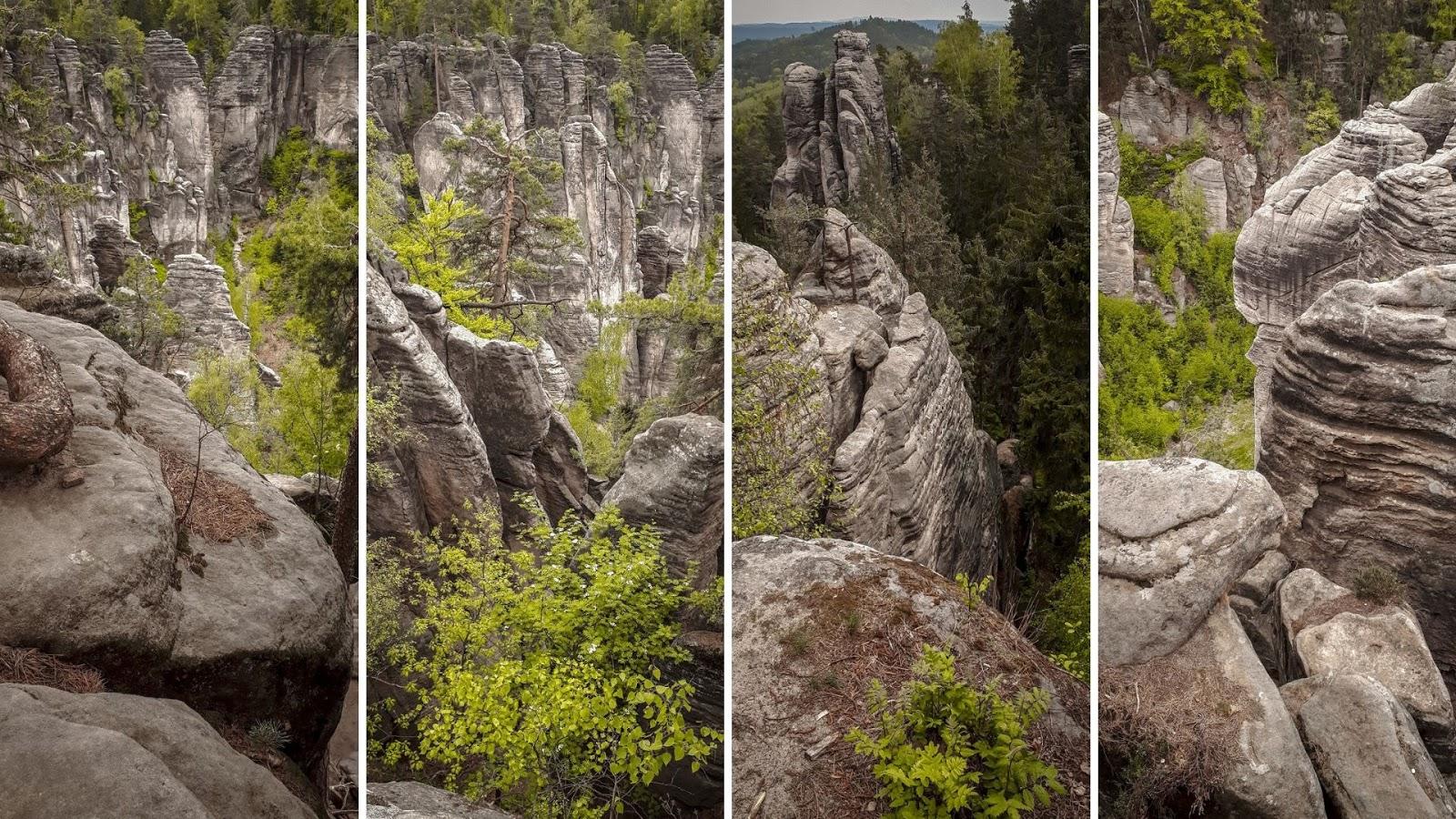 Skalne miasto - Prachowskie skały
