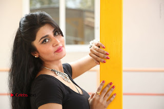 Telugu Actress Harini Stills at Dhyavudaa Movie Teaser Launch  0394.JPG