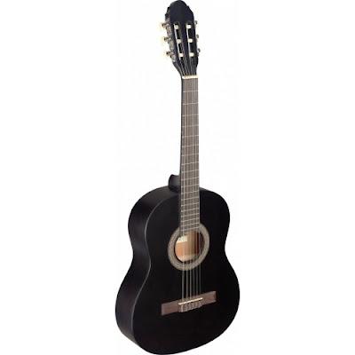 Đàn guitar classic 3/4 Stagg C430MBLK