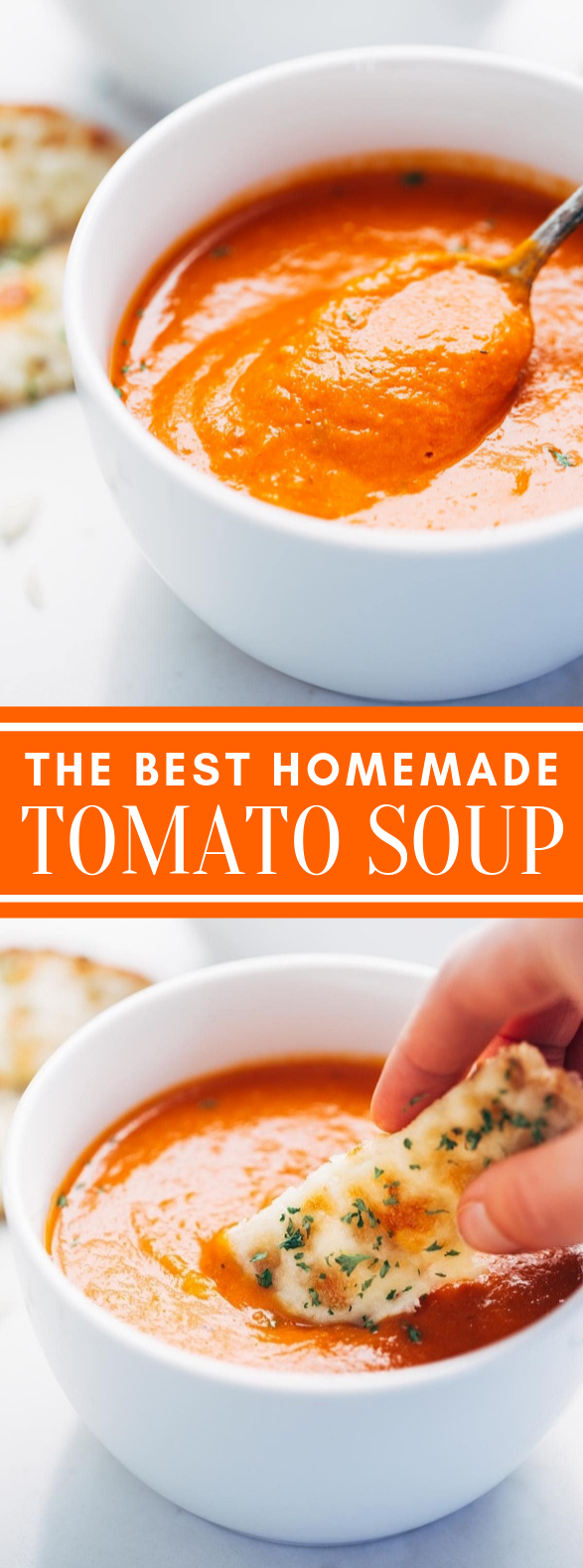 Simple Homemade Tomato Soup #dinner #lunch