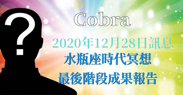 [揭密者][柯博拉Cobra]  水瓶座時代冥想最後階段報告