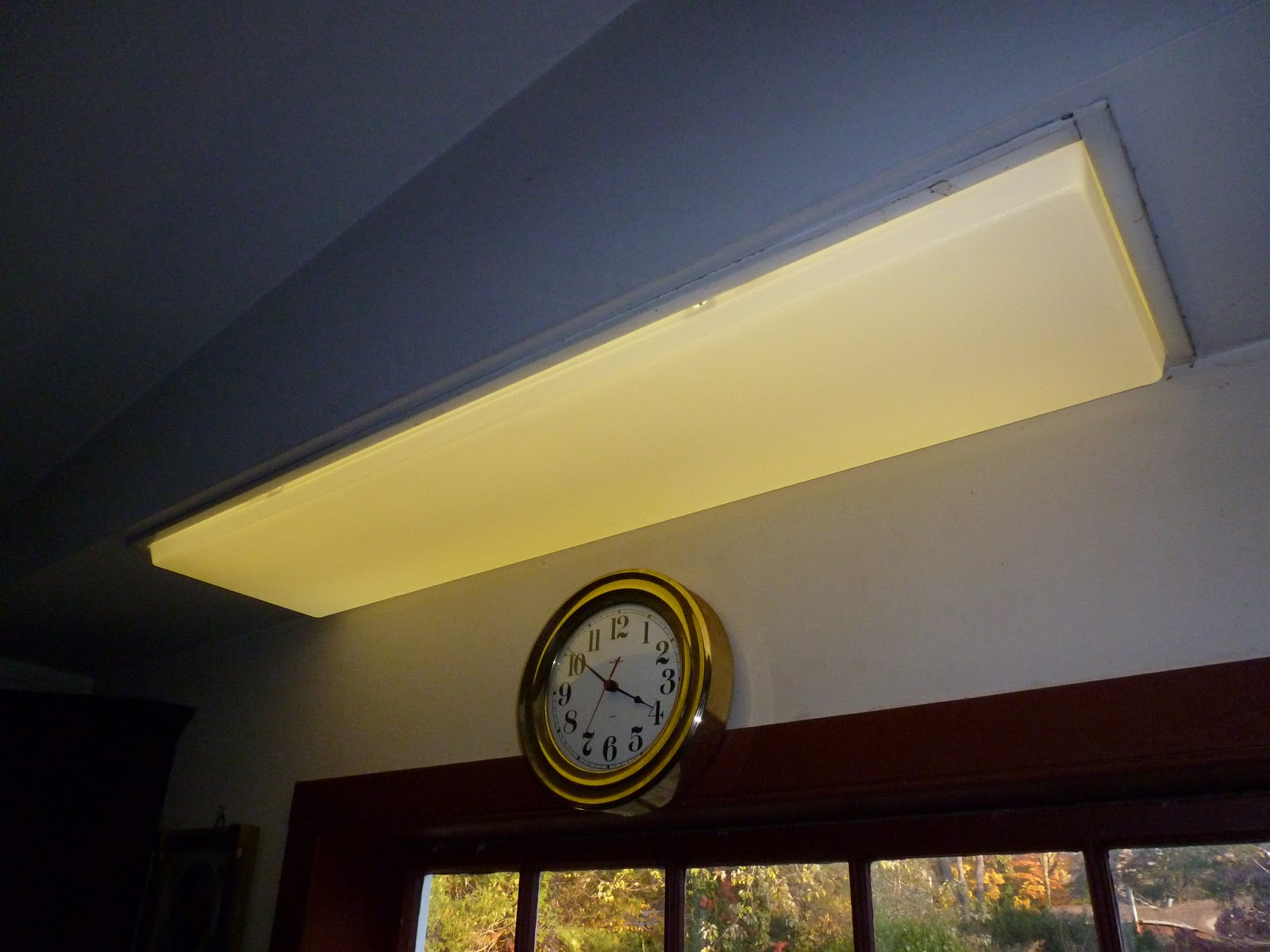 Overhead Lighting Jarvis House Home Maintenance Replacing A Lens On An