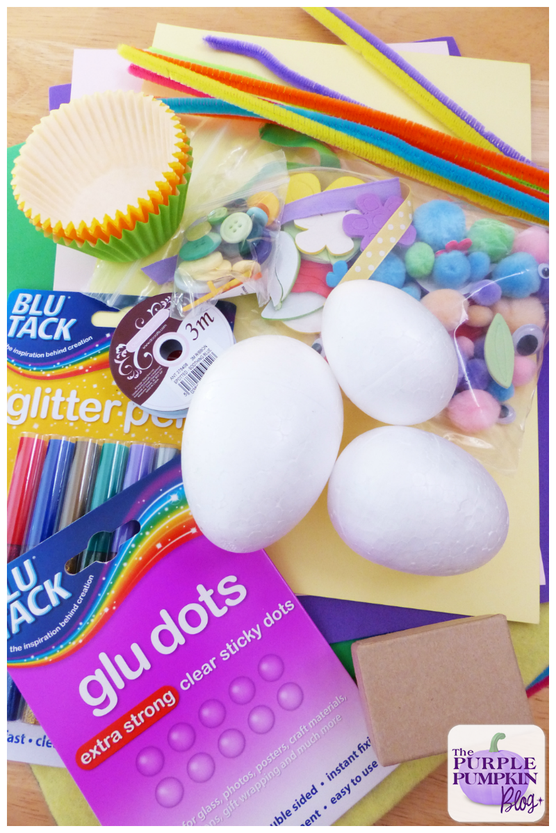 Easter Bunny, Chick + Egg Crafts [Bostik Craft Club]