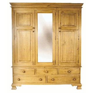 Teak Minimalist waredrobe and Armoire 2 door furniture,interior classic furniture code 121