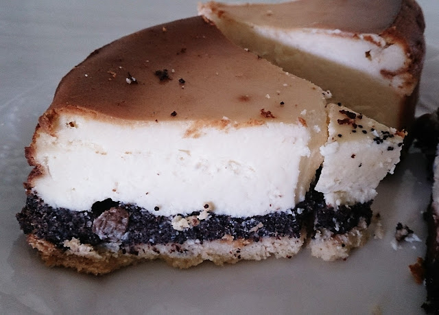 Polish Rye Crust Bakery, Dandenong, poppy seed cheesecake