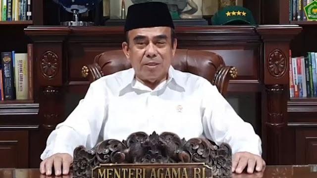 Menteri Agama Ajak Umat Islam Shalat Idul Fitri di Rumah Saja