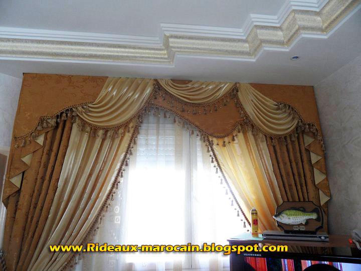 rideaux marocain royale rideaux voilage golden. Black Bedroom Furniture Sets. Home Design Ideas