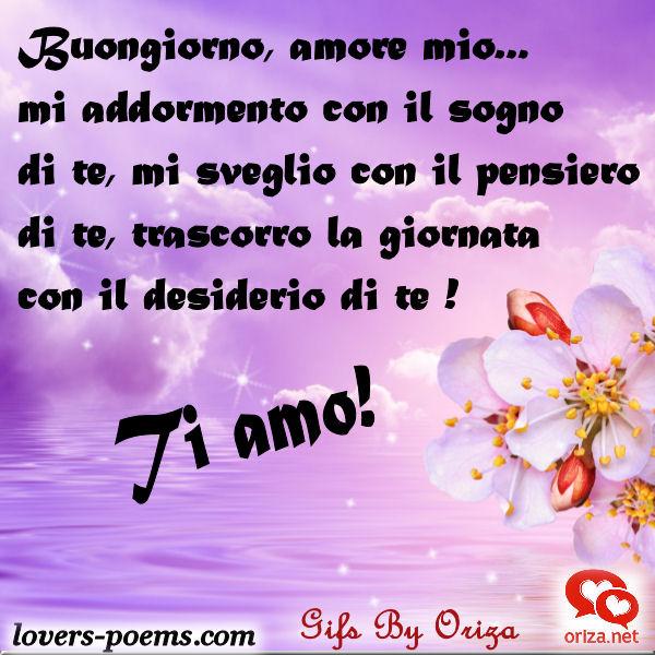 Messaggi Frasi Poesie D Amore Amore Mio Buongiorno