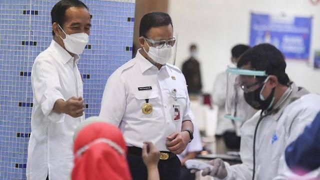 Anies: 7,5 Juta warga di Jakarta Sudah Divaksin, Lampaui Target Presiden