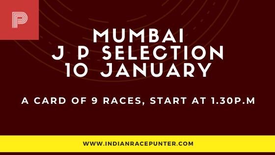 Mumbai Jackpot Selections 10 January