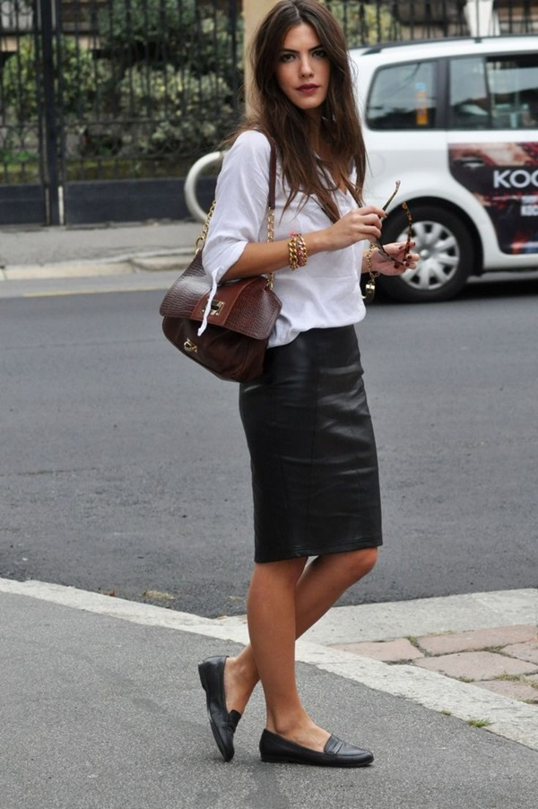 Black Pencil Skirt Outfit Ideas