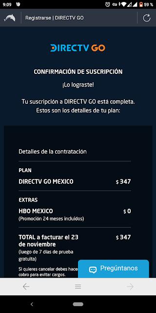 como obtener directv go premium gratis