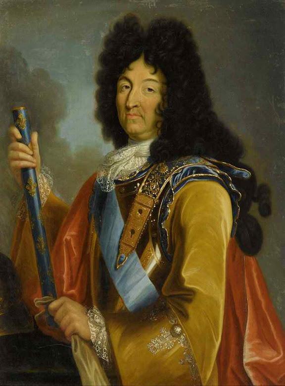 Luís XIV com a idade aproximada em que recebeu as cartas de Santa Margarida Maria. Atribuído a Pierre Mignard (1612 - 1695)
