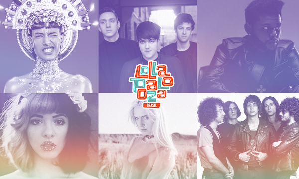 The Strokes, The Weeknd, The XX, Tove Lo, Melanie Martinez e MØ são algumas da atrações do Lollapalooza 2017!