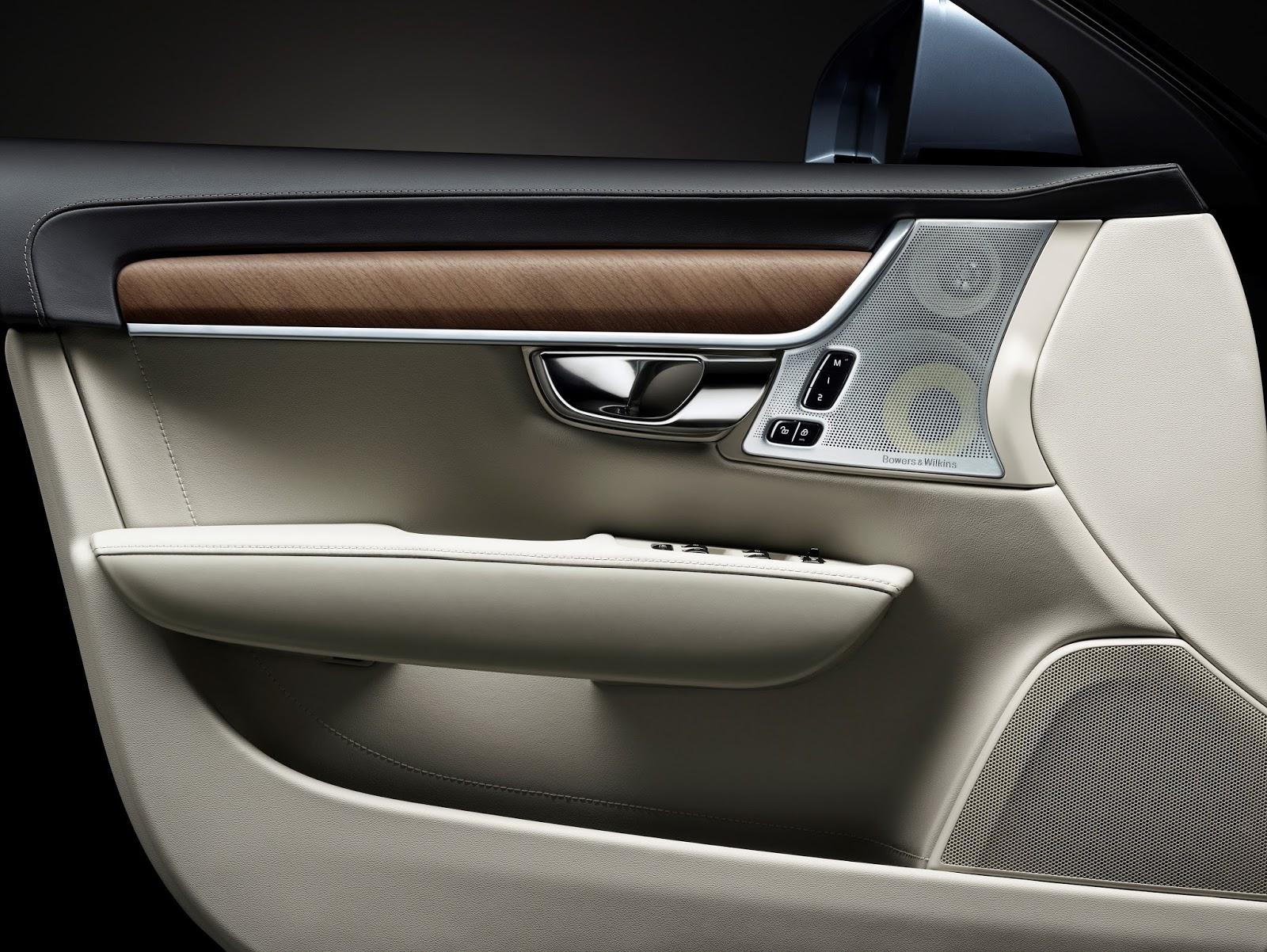 170074 Interior driver door Volvo S90 Το νέο Volvo S90 έρχεται και βάζει φωτιά στον ανταγωνισμό premium sedan, Volvo, Volvo Cars, Volvo S90