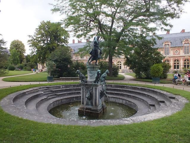jardines de Diana en Fontainebleau