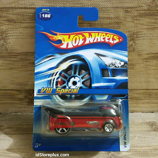 HOT WHEELS VOLKSWAGEN VW SPECIAL MYSTERY CAR DRAG TRUCK COLLECTOR NO 186