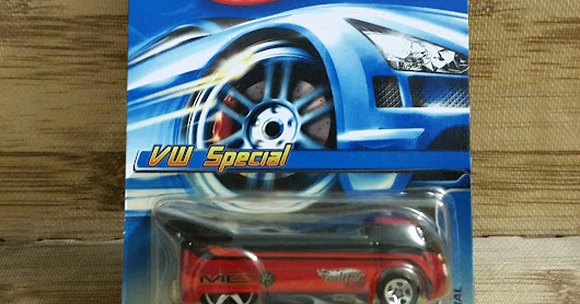 Jual HOT WHEELS VOLKSWAGEN VW SPECIAL MYSTERY CAR DRAG TRUCK COLLECTOR NO 186
