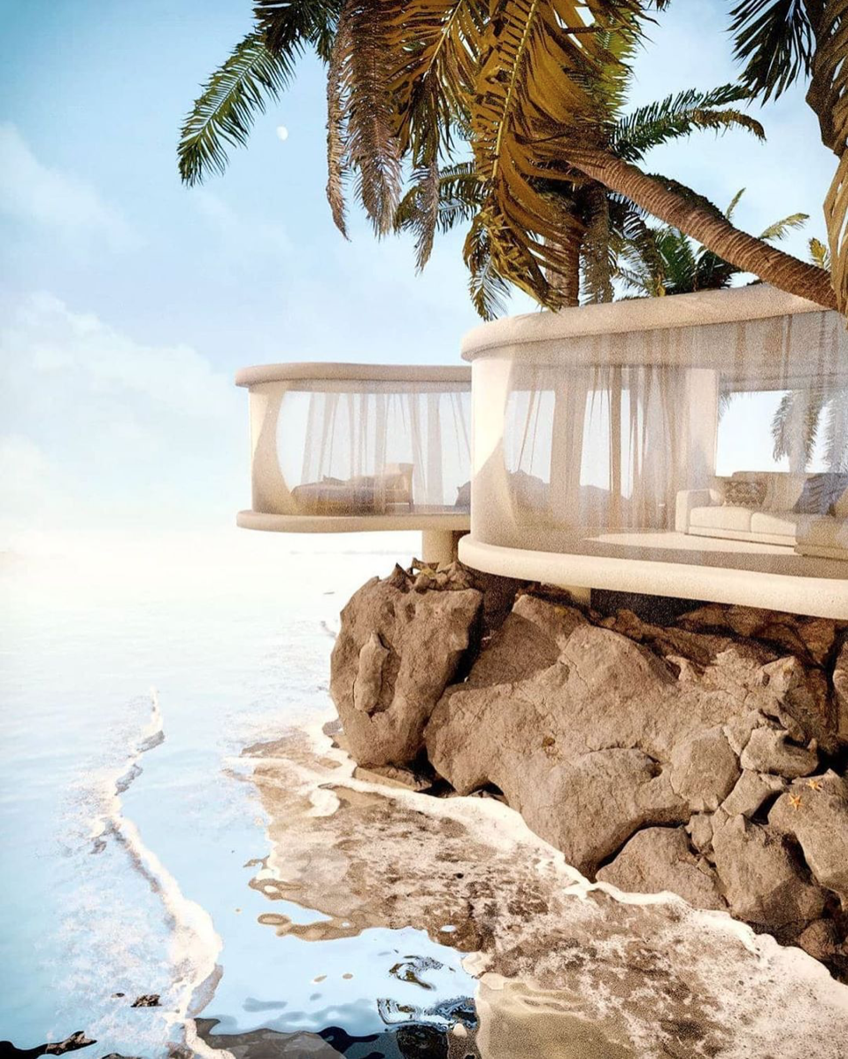 futuristic homes by the sea to escape reality in pandemic times