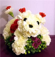 Fuzzy Puppy Mascotas Florales Ideas Y Material Gratis
