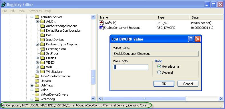 Wildergonzo blog habilitar multiples sesiones de escritorio remoto en windows xp - Reiniciar escritorio remoto ...