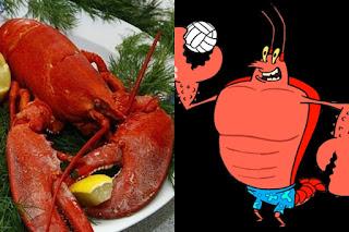 Larry the Lobster adalah Lobster Amerika