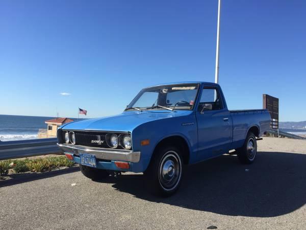 Unmolested Datsun 620 Pickup Truck   Auto Restorationice