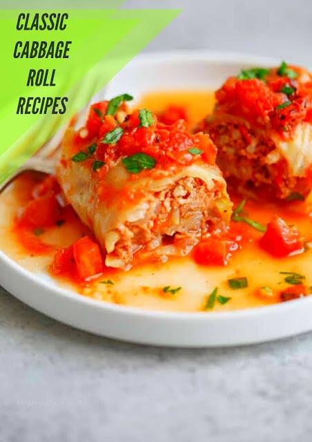 Classic Cabbage Rolls Recipe