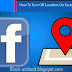 Turn Off Location on Facebook