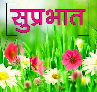 Flower Suprabhat Wallpaper Photo for Facebook