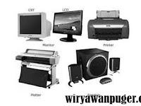 Peralatan Keluaran Komputer (Output Device)
