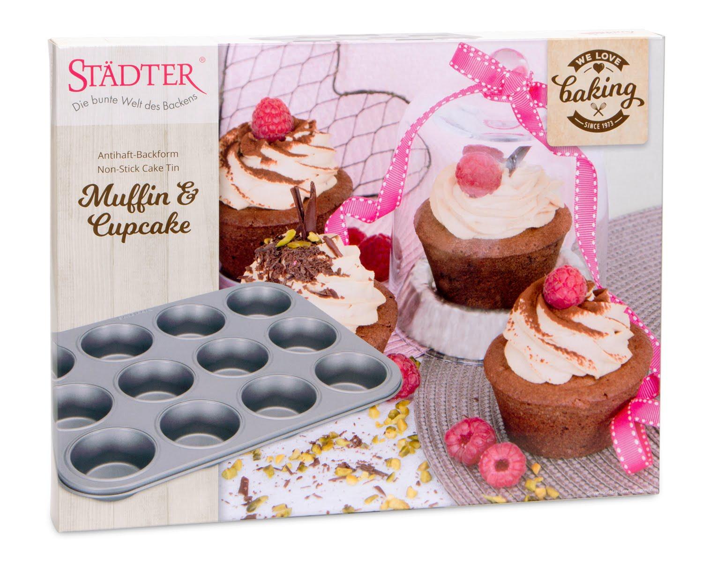 Städter Muffin- und Cupcakeform