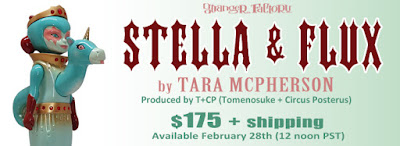 Stella & Flux Infrared Edition Vinyl Figure by Tara McPherson x Circus Posterus x Tomenosuke