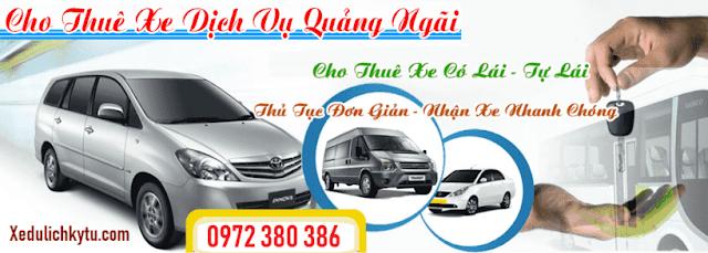 Thuê xe giá rẻ Quảng Ngãi đi Cảng Sa Kỳ - Lý Sơn