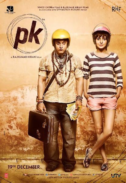 Poster of PK 2014 720p BRRip Hindi