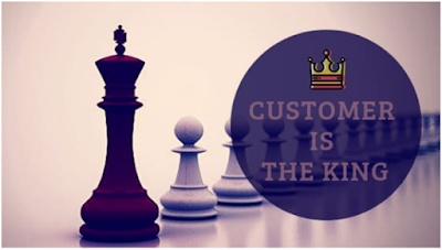 The customer is the king
