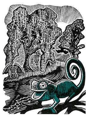Woodcut by Robin Mackenzie
