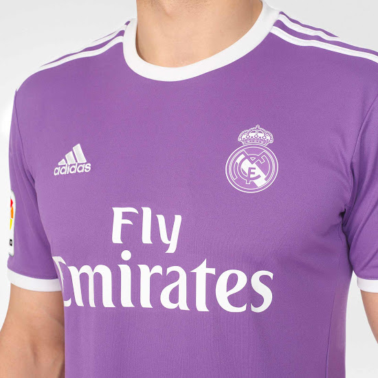 timeless design 22848 9e63c Real Madrid 16-17 Away Released - Footy Headlines