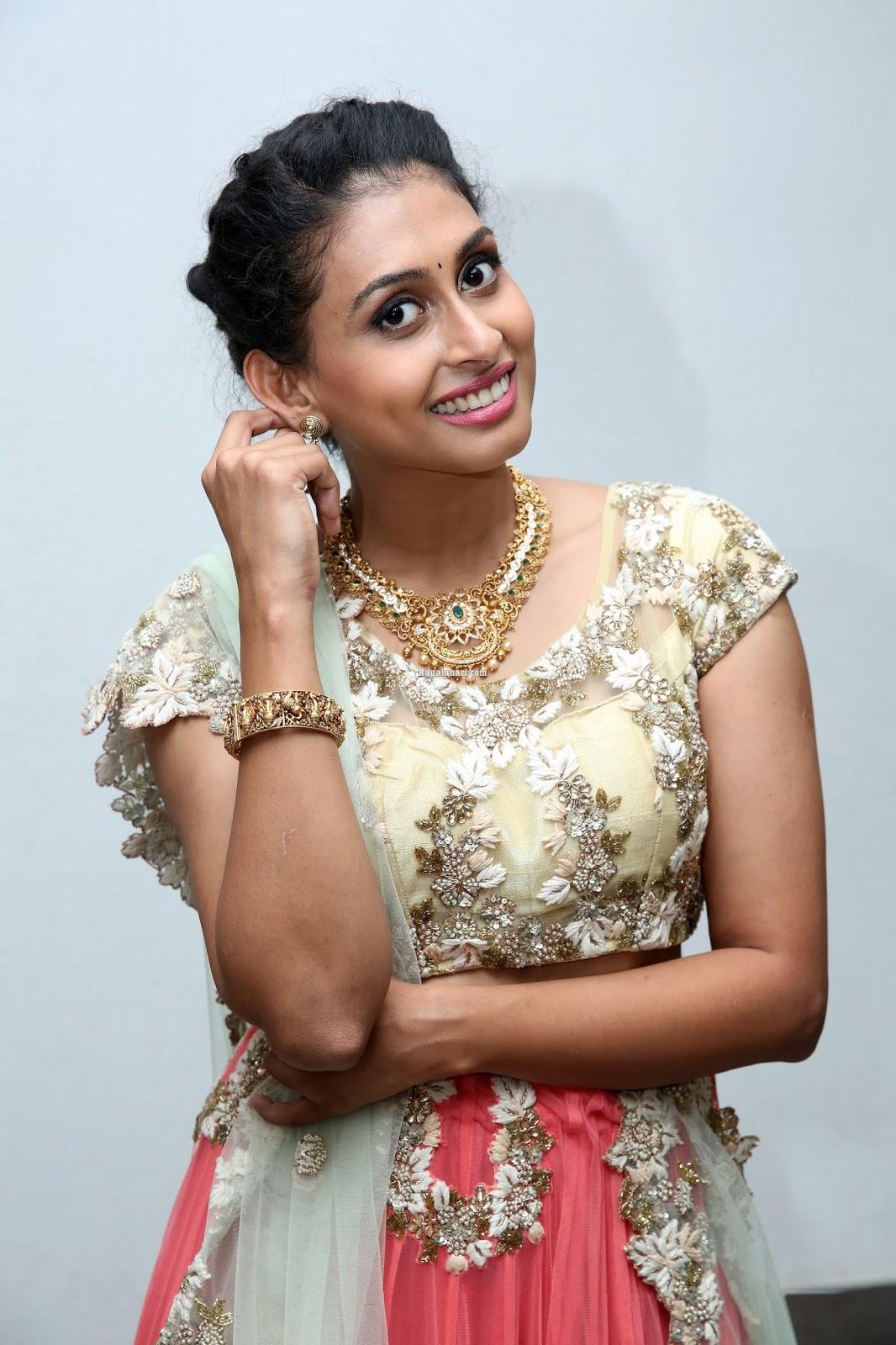 Nitya Naresh Latest Photos At Utsav Bazaar Logo Launch Event