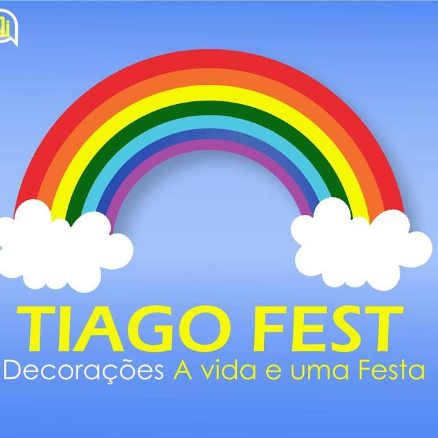 Contrate Tiago Fest Decorações de Pedreiras para deixar sua festa mais especial