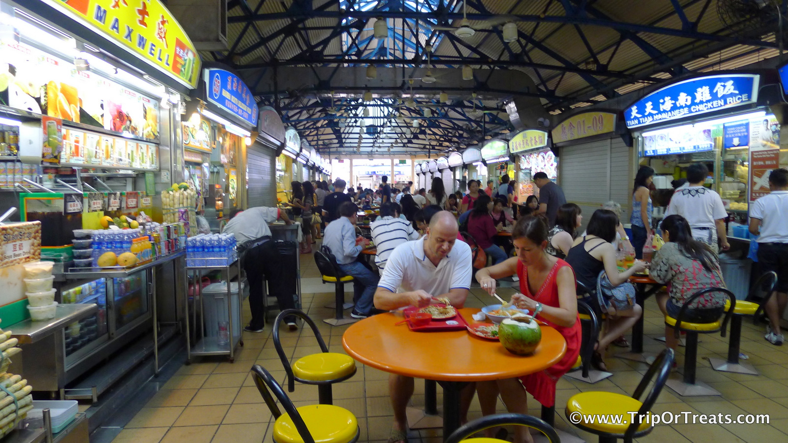 Trip or Treats: Hawker Haven at Maxwell Food Centre + BEST ...
